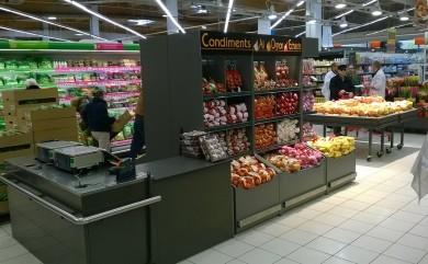 PLV en supermarché